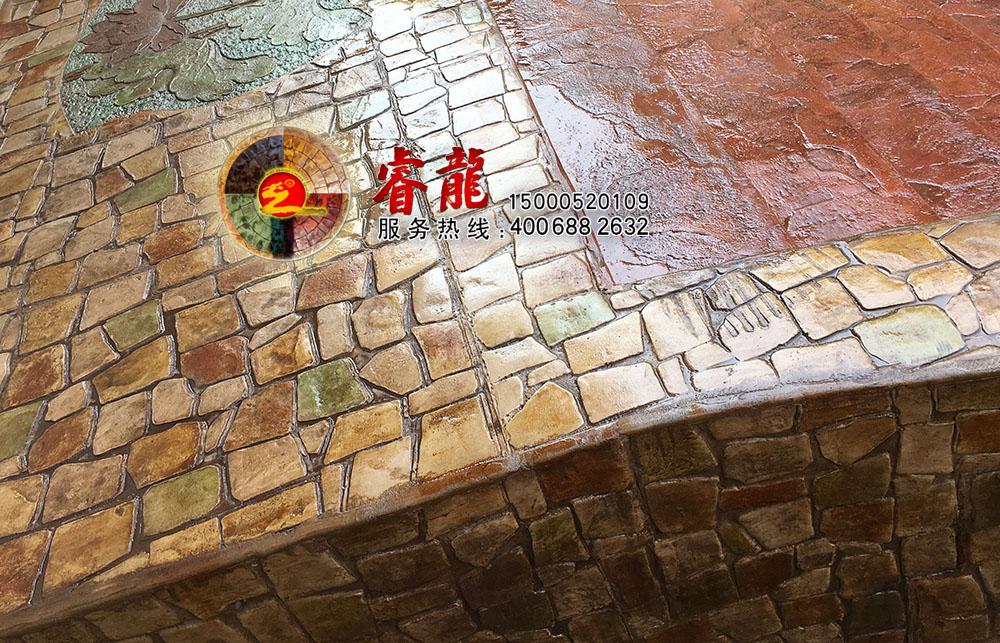 压模地面|压模地面材料|压模地面技术|上海亨龙