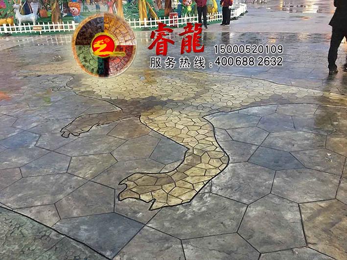 压印地面|压印地面材料|压印地面技术|上海亨龙