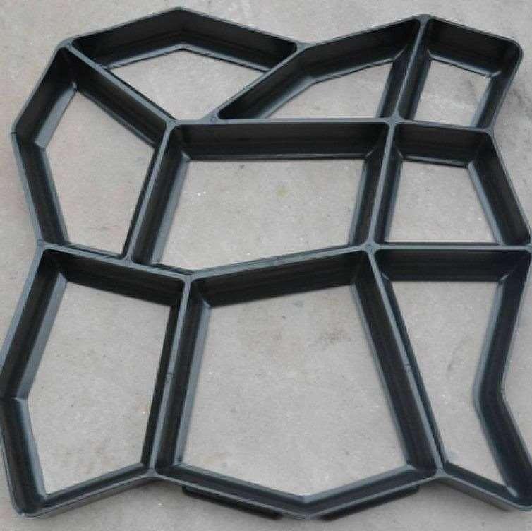 亨龙厂家现货混凝土艺术仿石压花压印模具