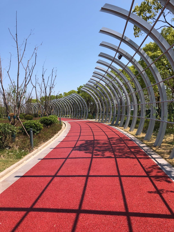 透水路面增强剂彩色施工地坪