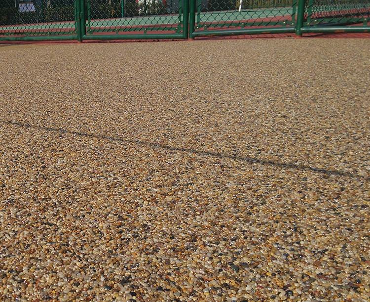 亨龙厂家直销透水地坪材料胶筑石混凝土道路面