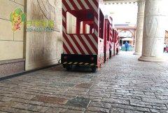 江南环球港地面铺装-彩色地坪路面应用案例